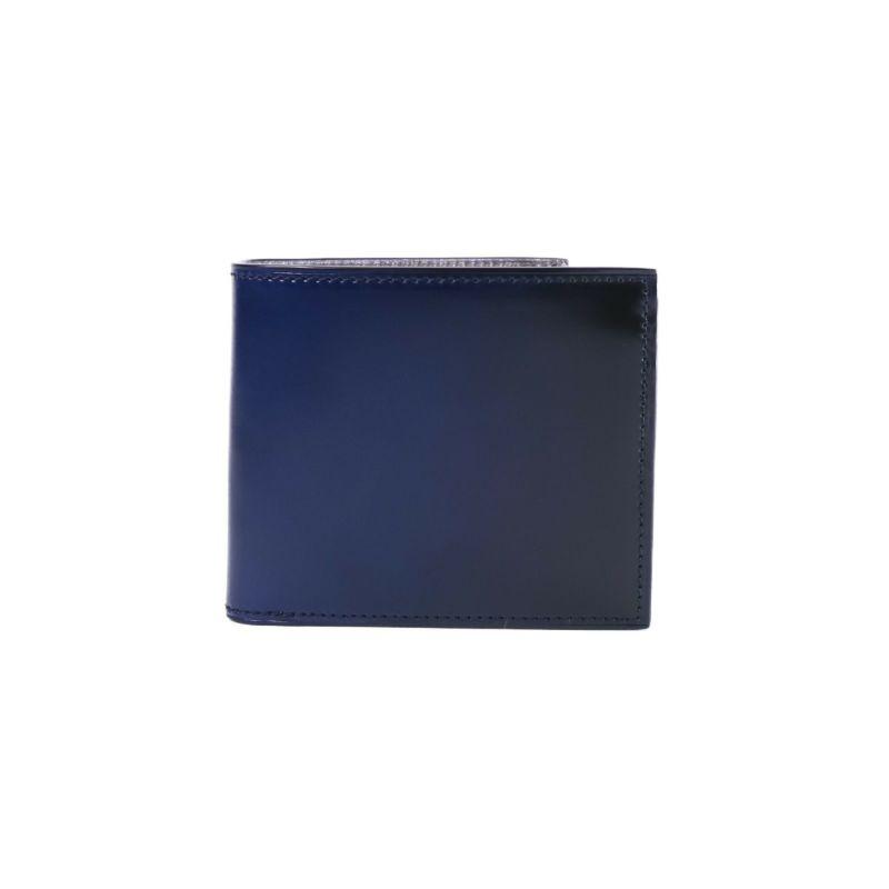 YUHAKU コードバン 二つ折り財布 の外装画像