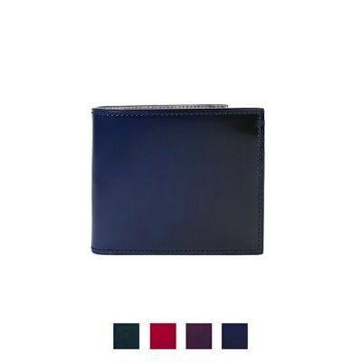 YFC132 コードバン二つ折り財布